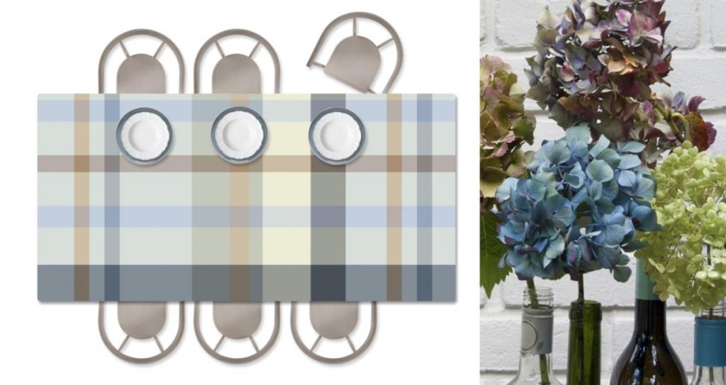 bossi rettangolare grigio azzurro beige