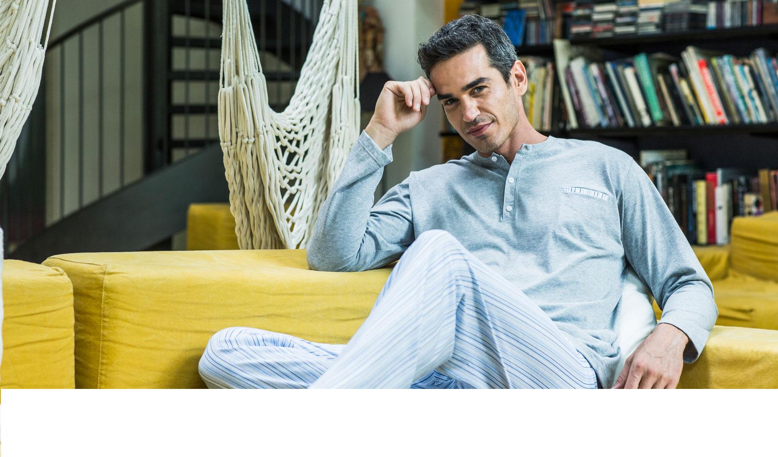 GHIRO pigiama in puro cotone, pratico e confortevole