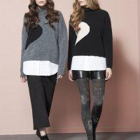 maglione in viscosa e lana Oroblu