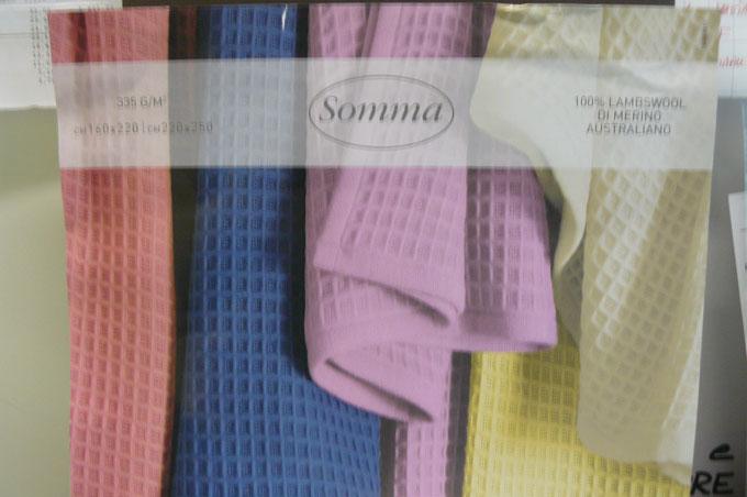 coperta somma lana merino SCONTO 30 %