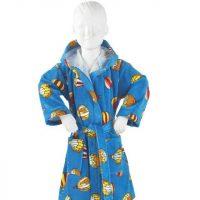 accappatoio-baby-mongolfiere blu Pretti