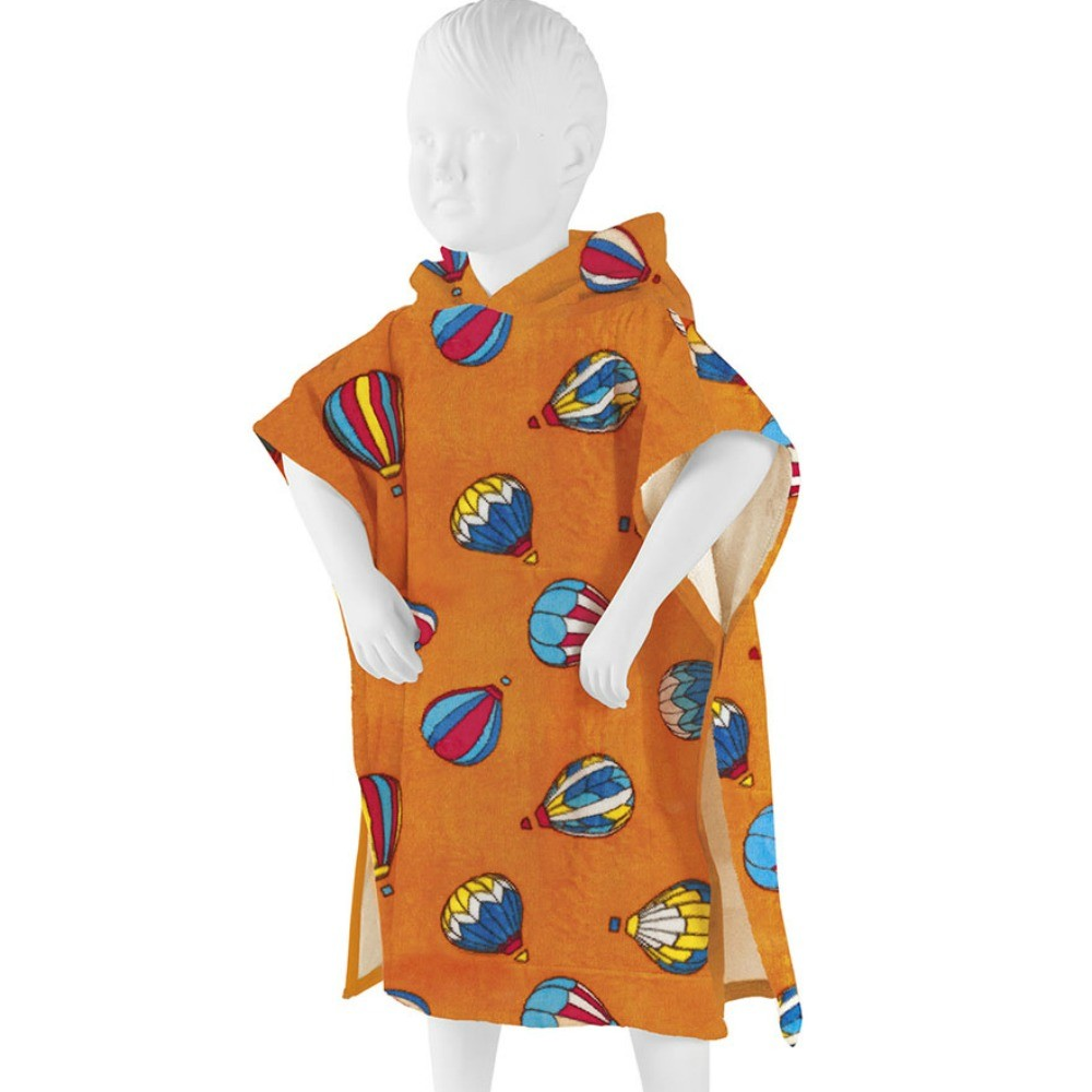 poncho baby mongolfiere