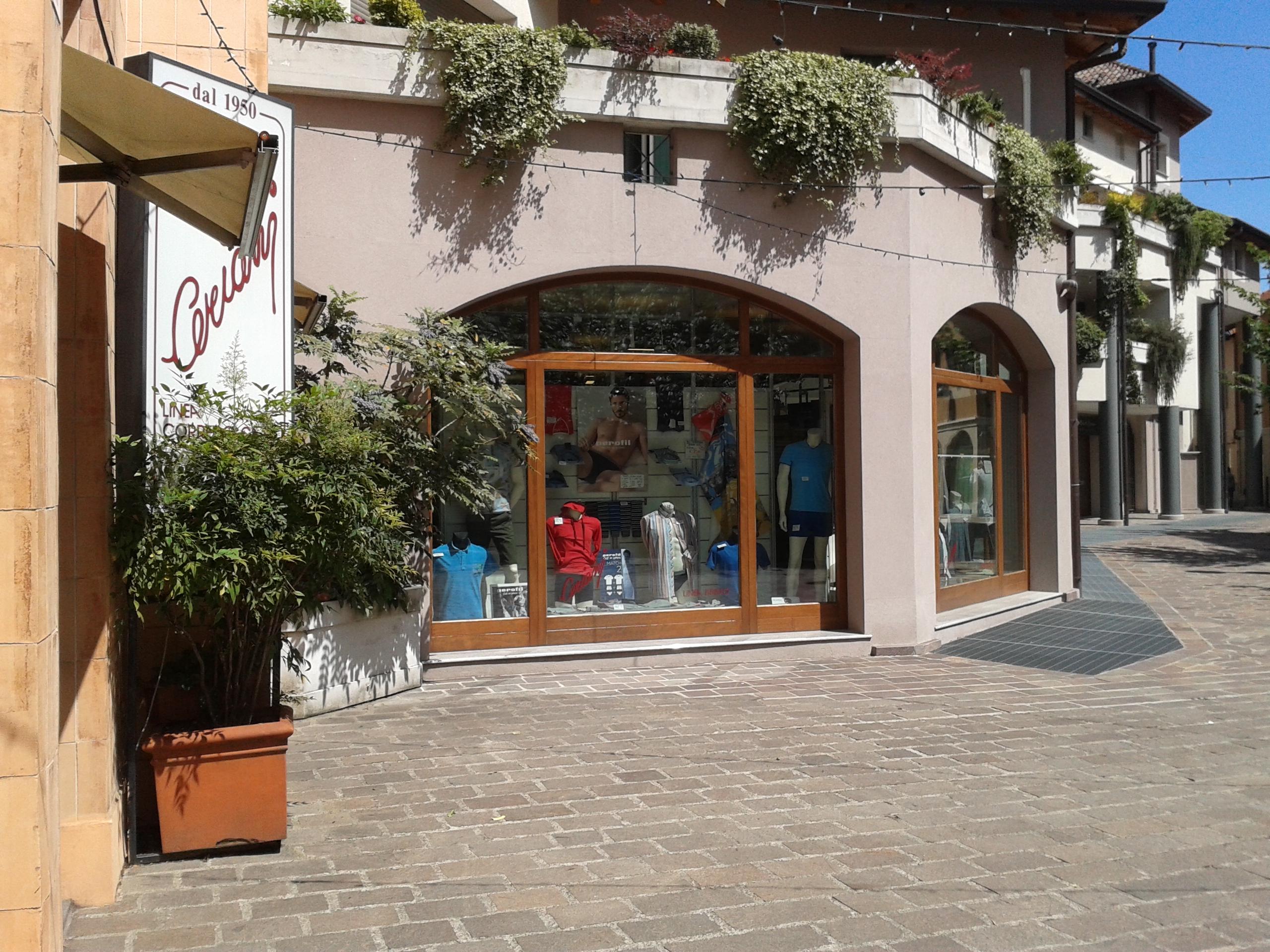 vista da piazza de Gasperi