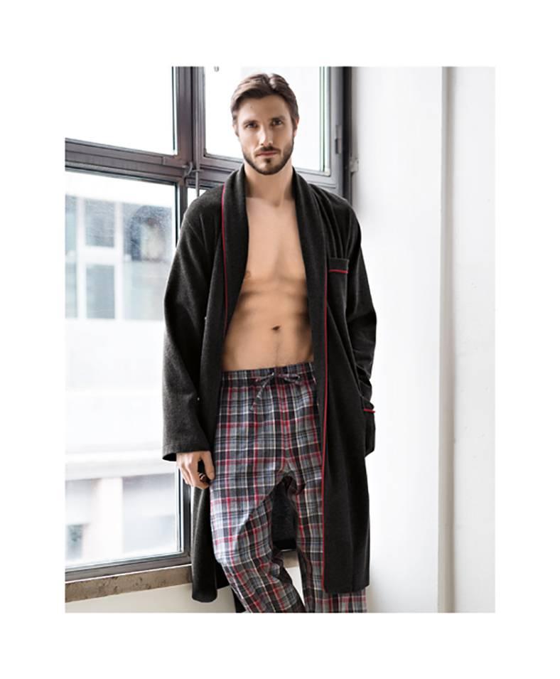 perofil vestaglia e pantalone
