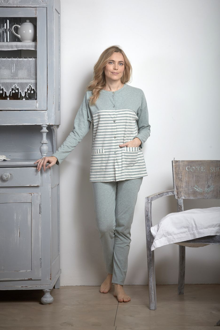 pigiama donna aperto maryplaid 6M93660