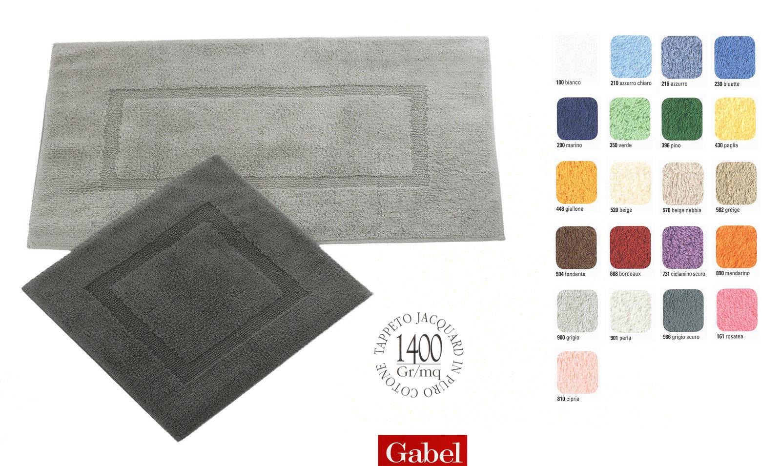 Tappeto Da Bagno Gabel 70 140 In Puro Cotone SCONTO