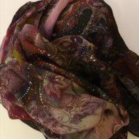 Sciarpa stola in lana/seta Caruso SCONTO 20%