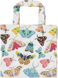 Borsa in pvc farfalle
