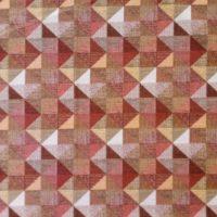 Tovaglia rettangolare e tessuto a metraggio in puro cotone Geometrica
