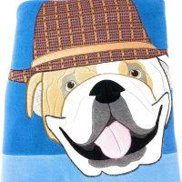 Plaid pile Maryplaid bulldog